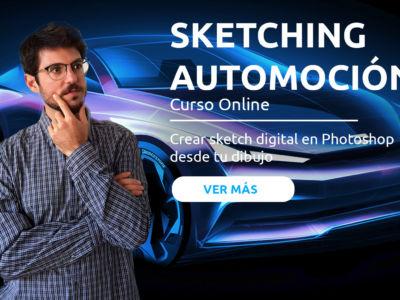 Introdución al Sketching Digital de Automoción
