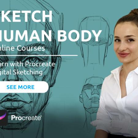 Sketching Human Body